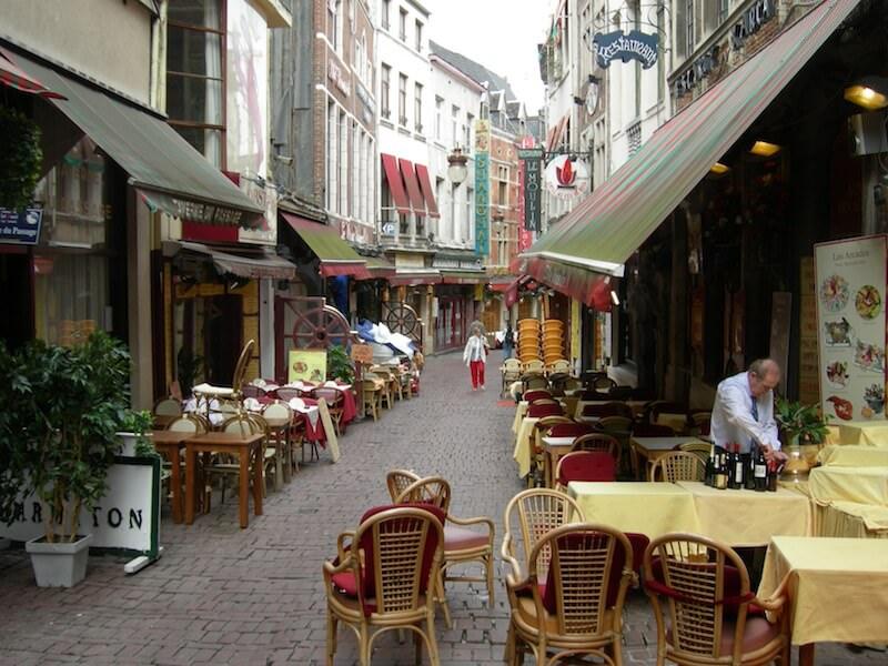 Charming restaurants in Brussels