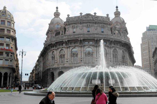 Downtown Genoa