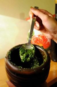 Mortar and Pestle Pesto