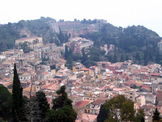 Taormina and Greek Theater