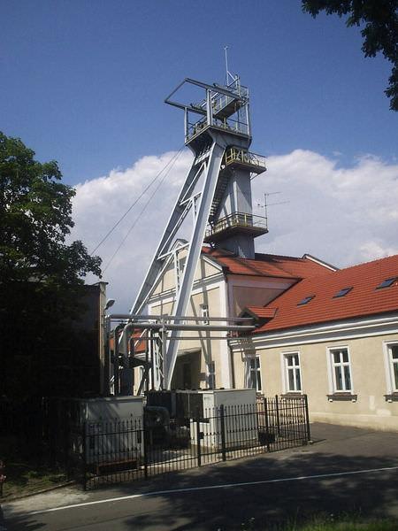 Wieliczka salt mine entrance