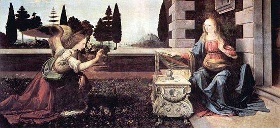 Leonardo_da_Vinci_Annunciation-uffizi