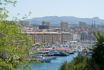 Marseilles old port