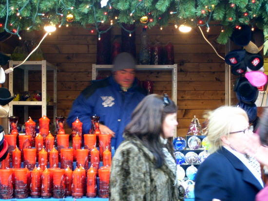 Prague Christmas Market Stall