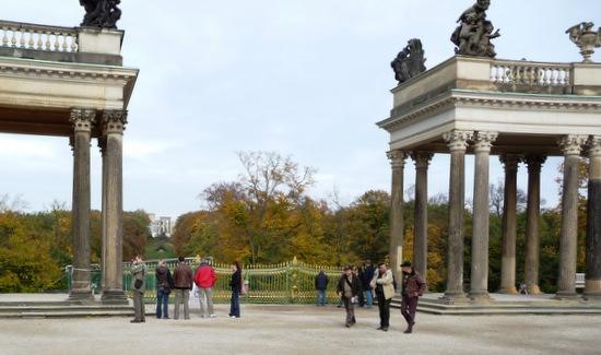 Sanssouci entrance