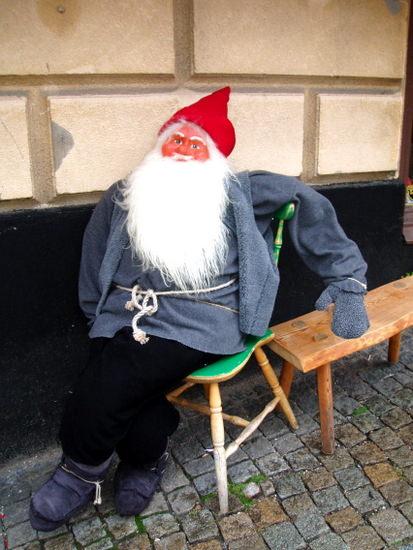 Santa Claus mannequin at Santa Clause Village