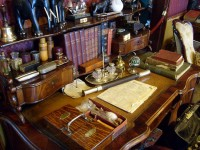 The Sherlock Holmes Museum on Baker Street, London