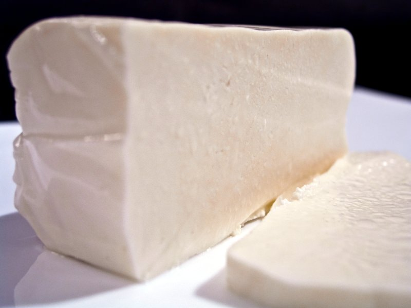 Skripavac Croatian cheese a favorite of Croatian cuisine