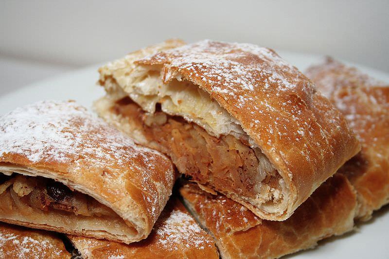 Strukli, another favorite in Croatian cuisine