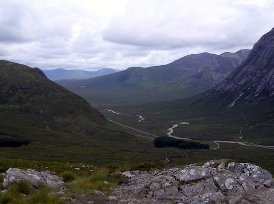 View from the top of Devil's Staircase