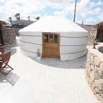 a yurt in Lanzarote