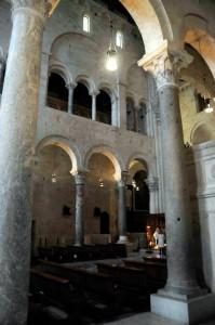 Inside the Duomo in Bari