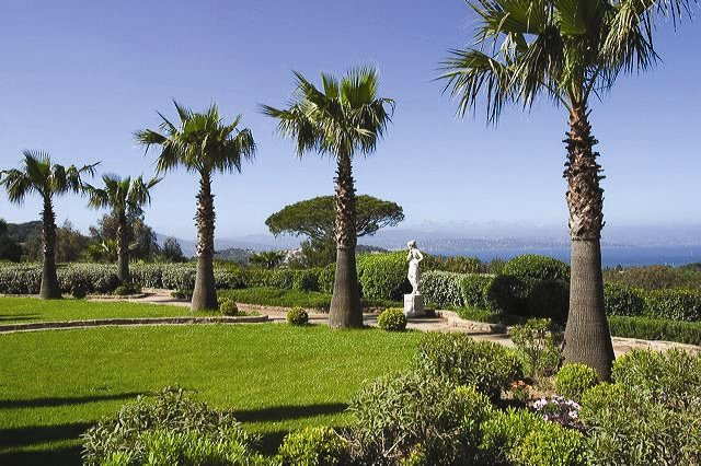 Chateau Messardiere  jardin