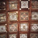 Huedin church ceiling