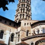 Saint Sernin Basilica in Toulouse