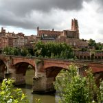Albi in Southwest France