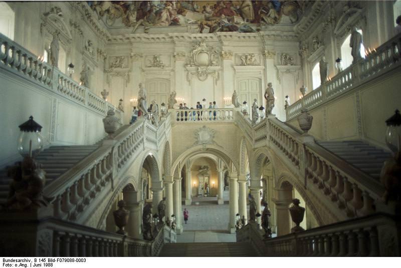 Würzburg, Residenz Staircase
