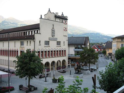 Main street Vaduz