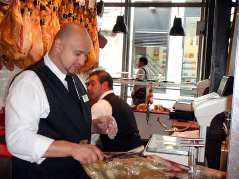 Sampling Spanish Ham