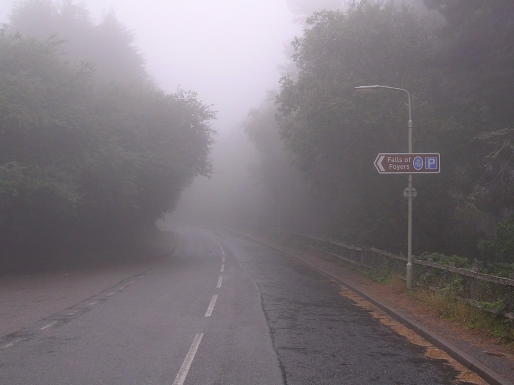 The road shrouded in mystery