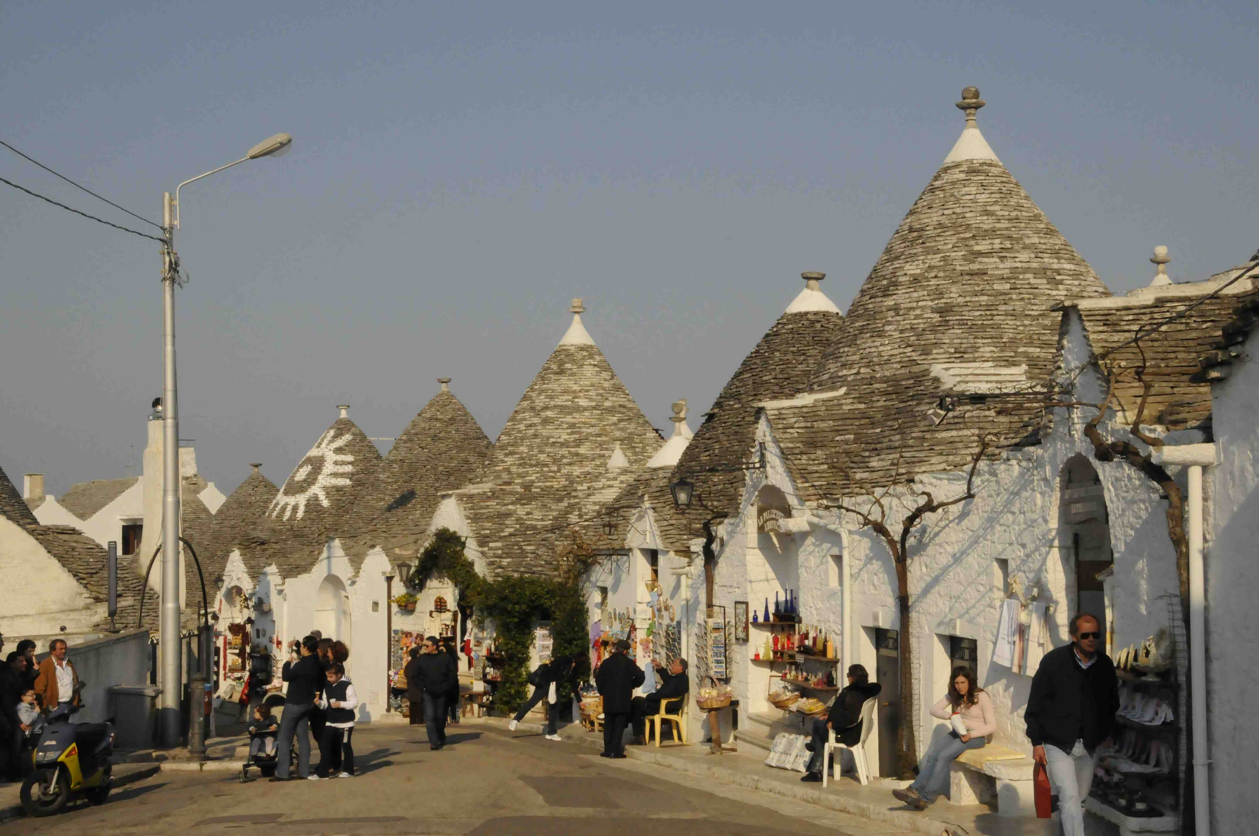 Visiting the historical trulli of alberobello italy europe up close