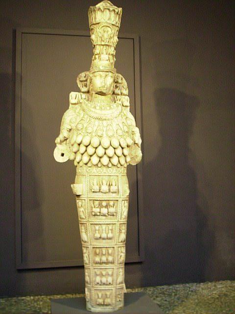 Artemis statue in Selcuk Museum