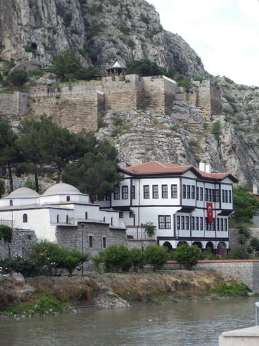Castle overlooking Amasya