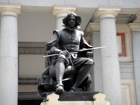 Diego Velazquez statue