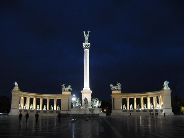 Hero's Square in Budapest