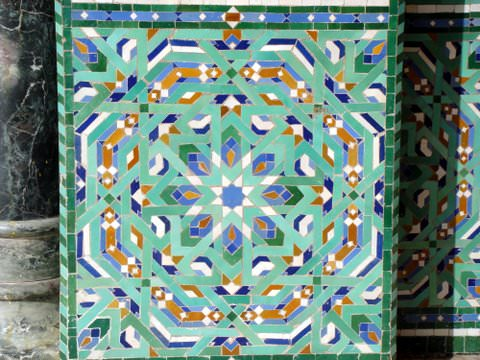 Hassan II Mosque Tiles