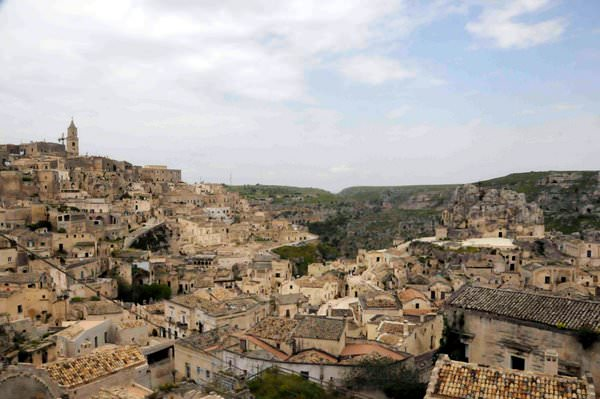 Matera from above