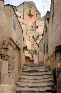 Matera's alleyway