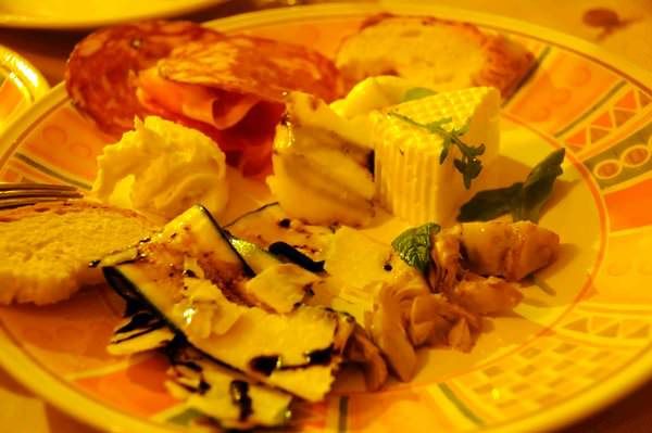 Plate of Antipasti