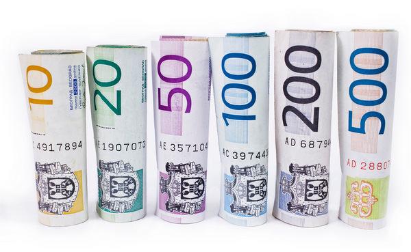 Serbian Money