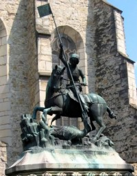 cluj St George killing the dragon
