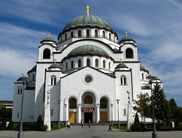 sveti sava church serbia