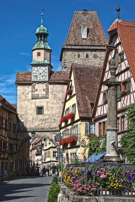 street in Rothenburg ob der Tauber
