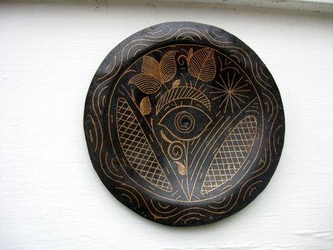 Damascene plate