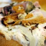 Porchetta Sandwich closeup