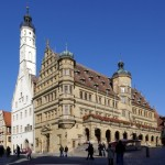 Town hall in Picturesque Rothenburg