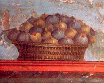 Still life painting of Vesuvius