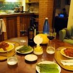 Dining in the Apartment at the Riserva di Fizzano