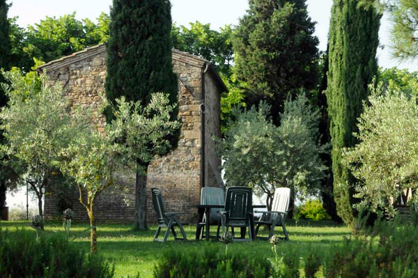 grounds at the Riserva di Fizzano