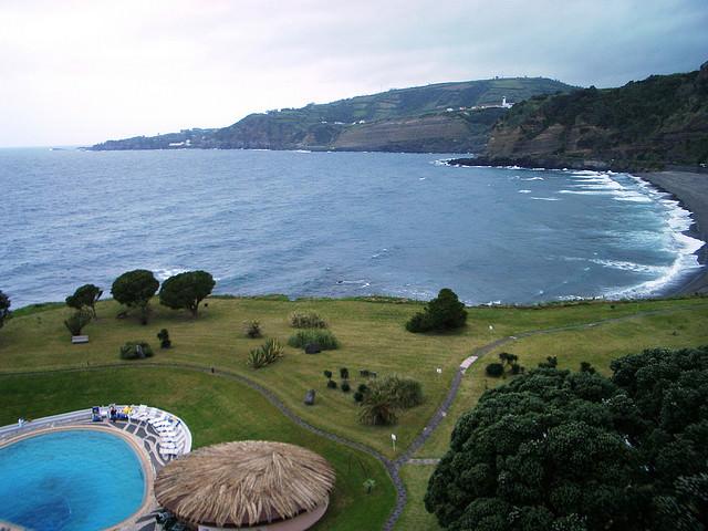 Baia d'Alto, Sao Miguel, Azores islands