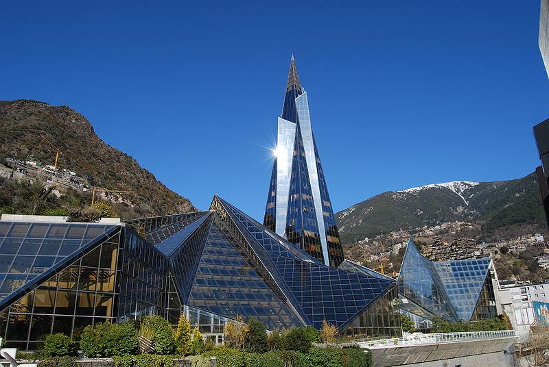 Caldea Spa in Andorra la Vella