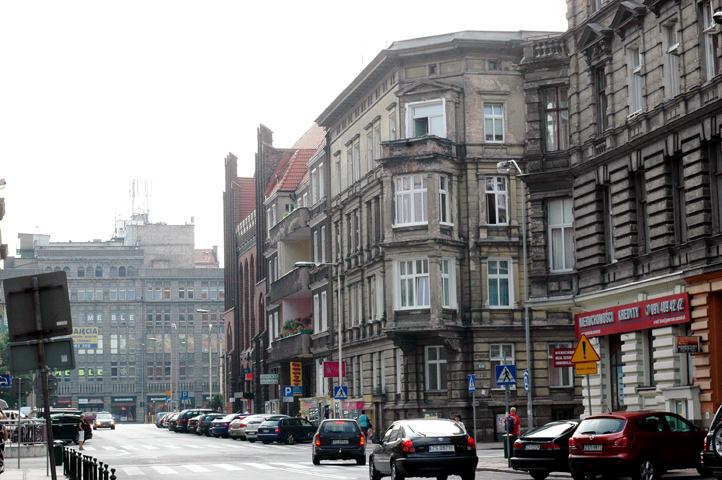 Szczecin Street scene