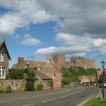 Bamburgh-village-castle