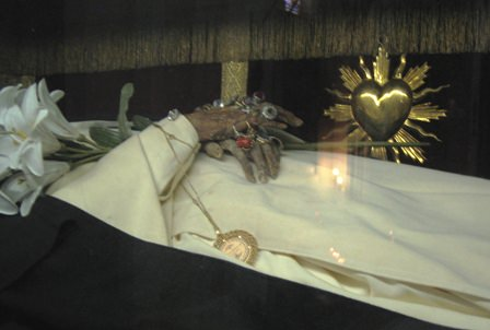 Body of St Agnes of Montepulciano