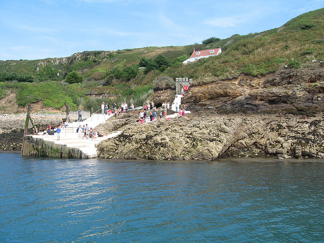 Rosiere Steps, Herm, channel Islands