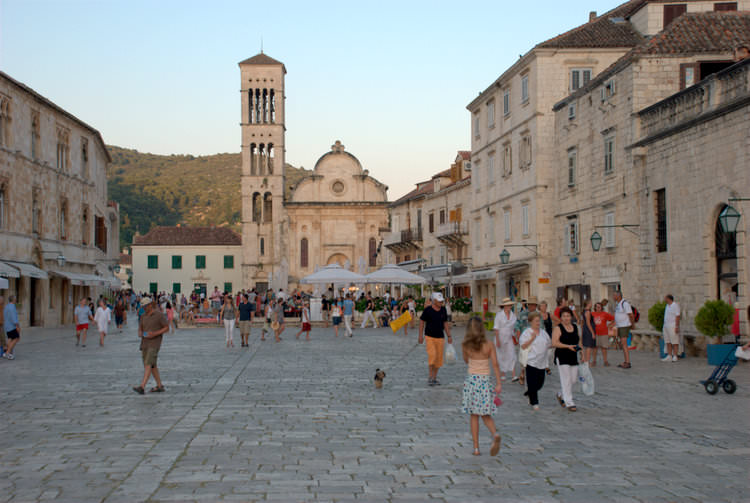 Hvar Town by Matt Bozigar